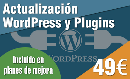 Actualización WordPress y Plugins