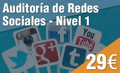 Auditoría de Redes Sociales Nivel 1