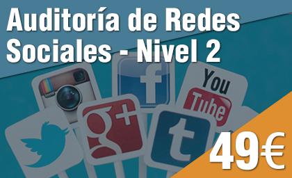 Auditoría de Redes Sociales Nivel 2