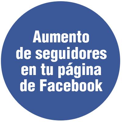 Aumentar seguidores página Facebook