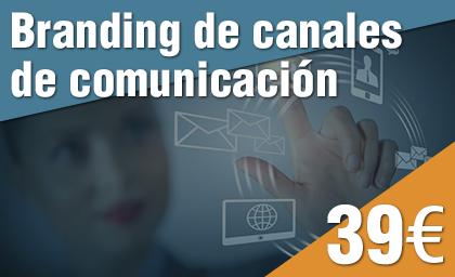 Branding de canales de comunicación