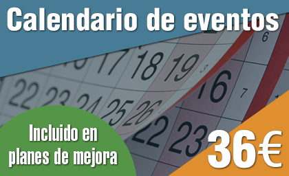Calendario de eventos WordPress
