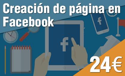 Creación página Facebook