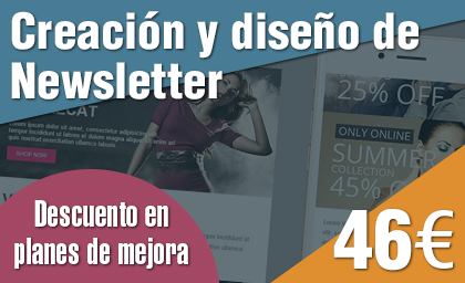Diseño de Newsletter low cost