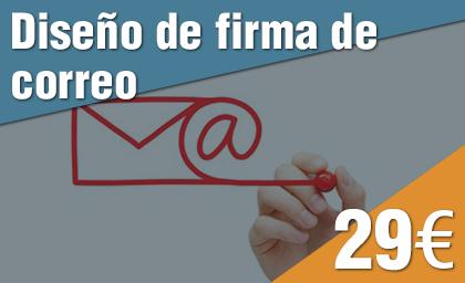 Diseño de firma de correo