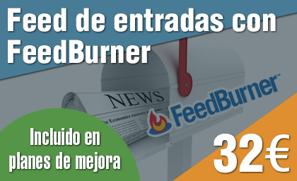 Feed FeedBurner en WordPress