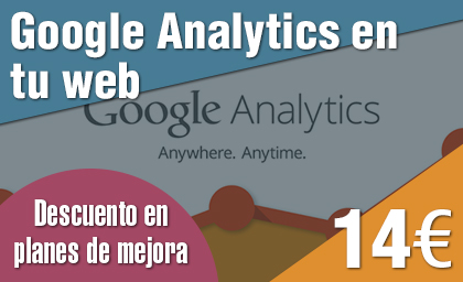 Google Analytics en tu web