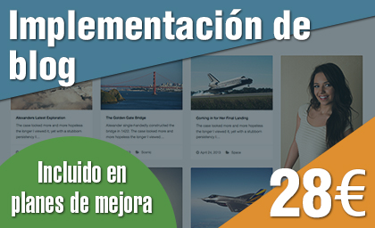 Implementación de blog