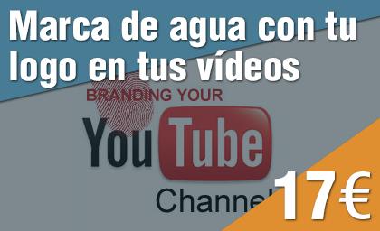 Marca de agua branding en YouTube