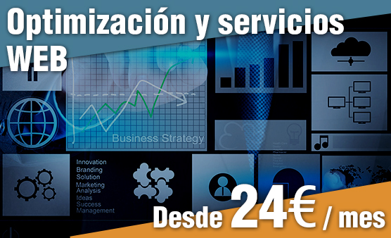Optimización, mejoras y servicios web