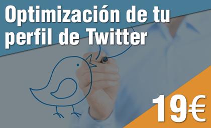 Optimización perfil de Twitter