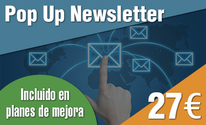 Pop Up para Newsletter para Wordpress 2