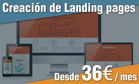 Creación de Landing pages