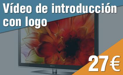 Vídeo introducción con logo