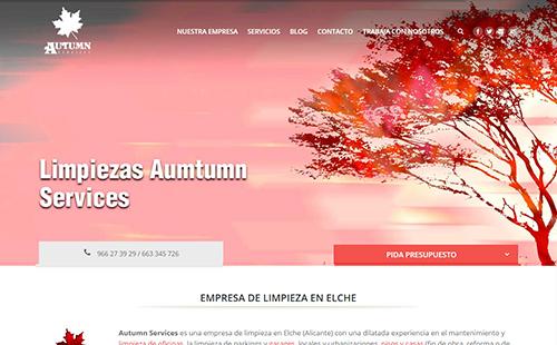 Limpieza Autumn